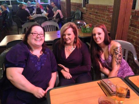 Me, Kristi and my daughter Taylor, 2015