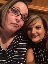 """Adulting"" - Kristi and I, September 2016"