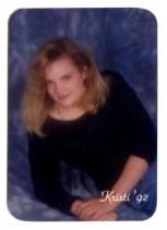 Kristi's high school graduation picture!