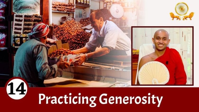 Practicing Generosity and its Benefits   Mirror of the Dhamma for Kids   Episode 14