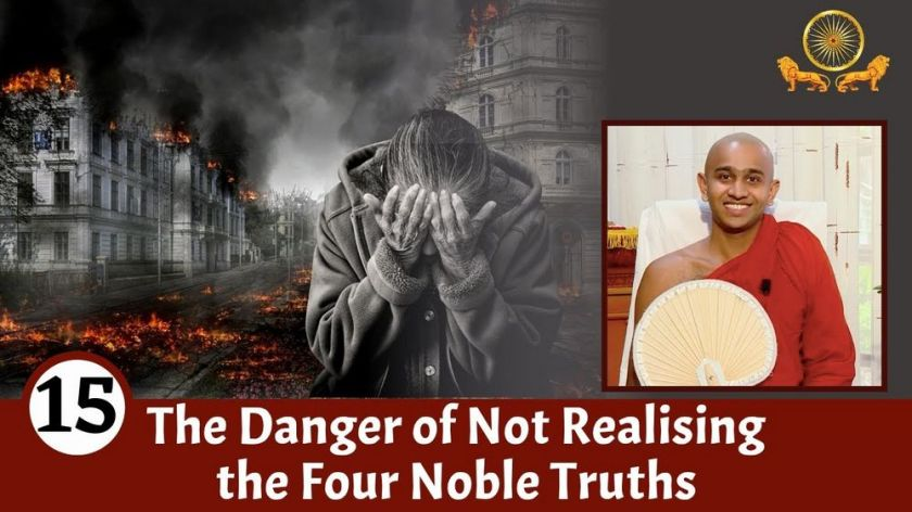 The Danger of Not Realising the Four Noble Truths   Mirror of the Dhamma for Kids   Episode 15