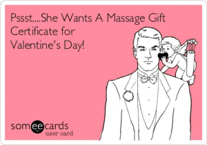 Valentine's Day Massage