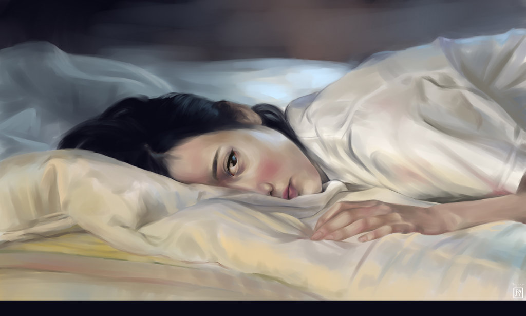 Image result for sleeplessness in painting