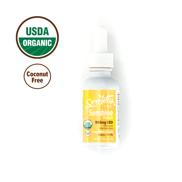Sunshine | USDA Organic| Serenity CBD