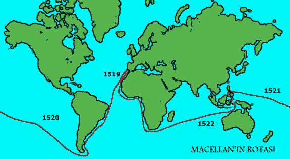 Macellan'ın dünya turu