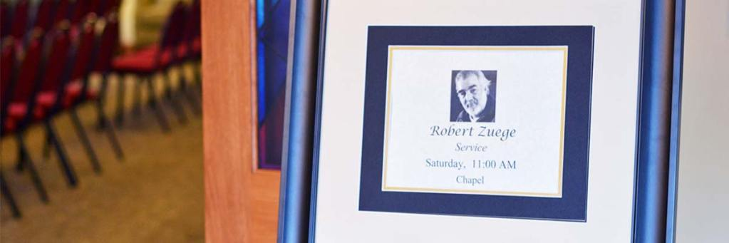 Obituary of Robert Edward Lee Barry Zuege