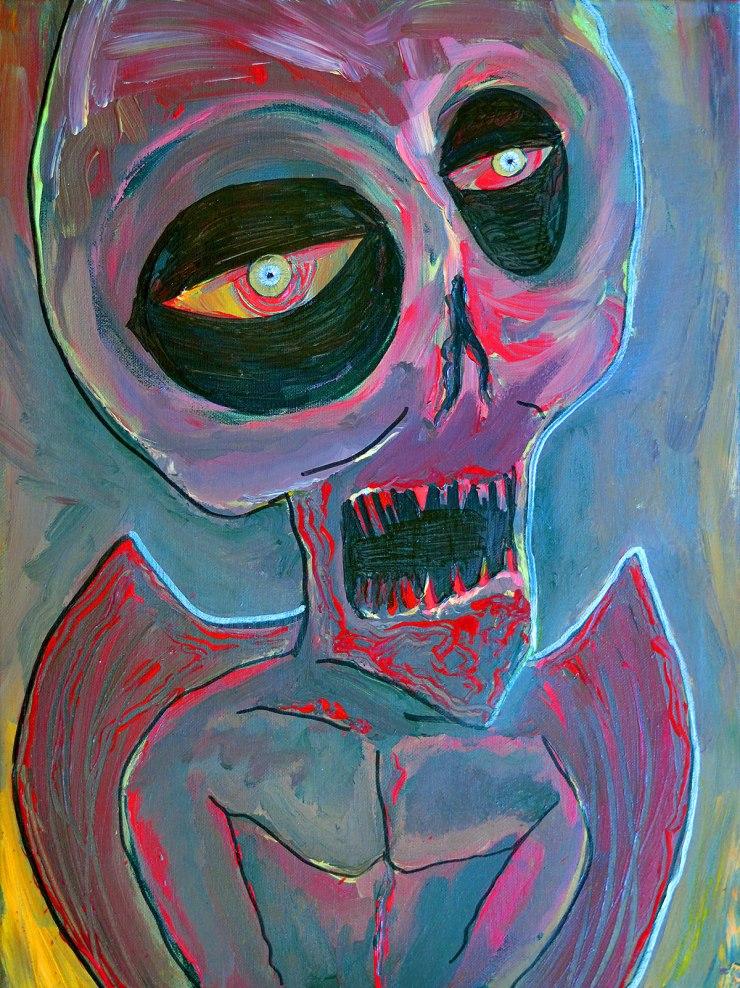 Artemis Sere SS-SG-00301 Portrait of a Pit Fiend