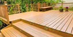 hardwood decking