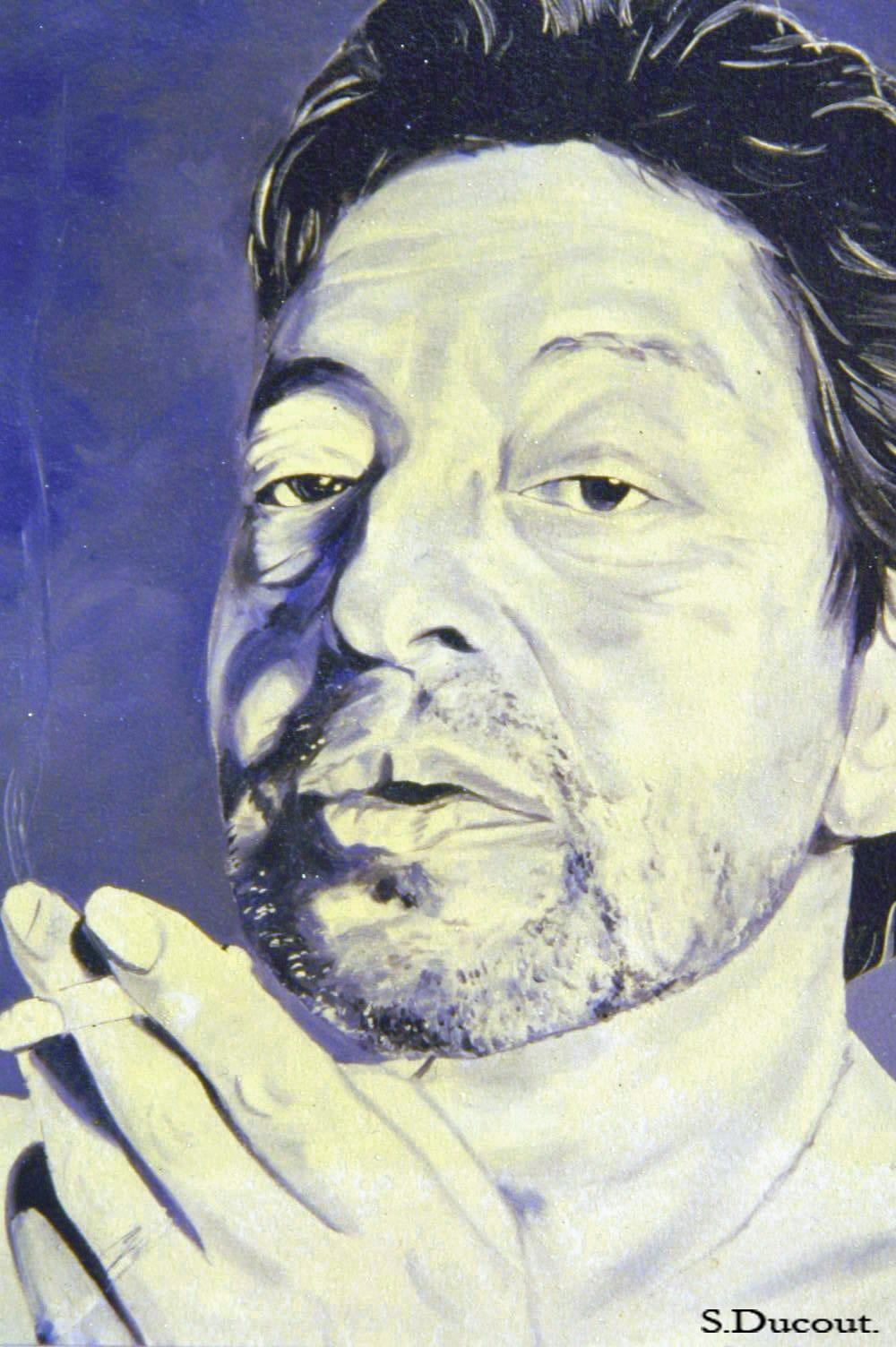 Gainsbourg - Série de photos de chanson française - Serge Ducout - Photographie