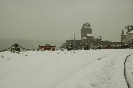 Solidor sous la neige - Serge Ducout - Photographie