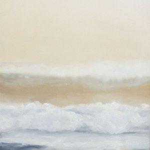Golf nr5, olieverf op paneel, 19 x 15 cm, Serge de vries