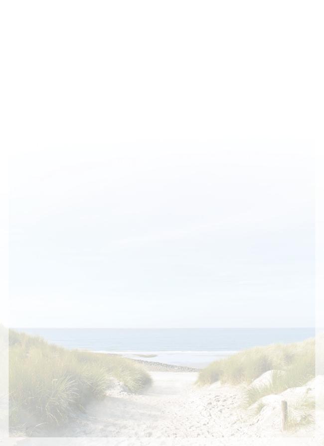 Strand en water