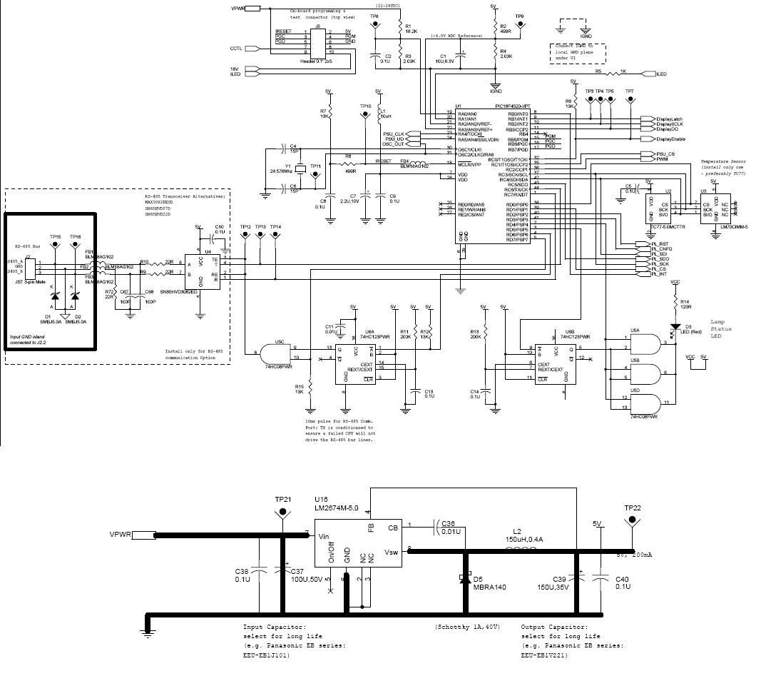 Step Voltage Regulator Schematic