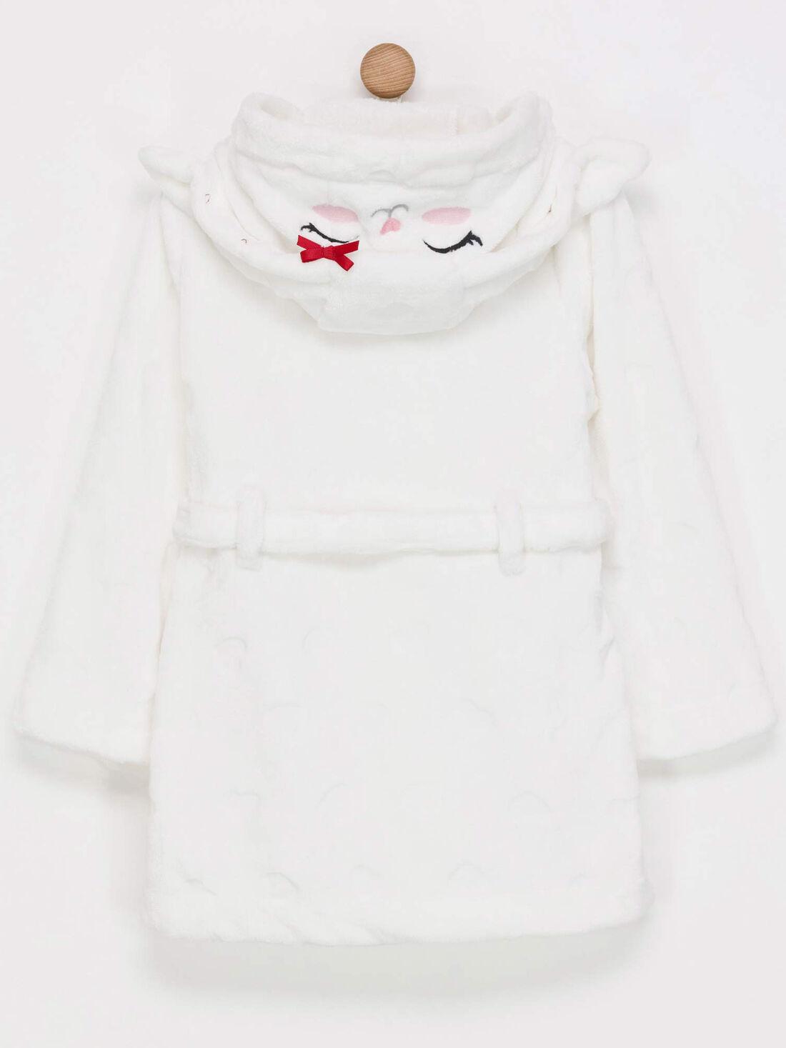 Robe De Chambre Blanche Enfant 2 11 Ans Enfant Sergentmajor