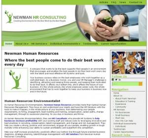 Newman Human Resources Website