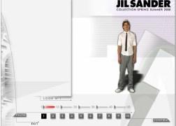 JIL SANDER . Cover Catwalk Look 1