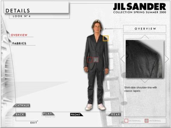 JS 025 Modello 4 details
