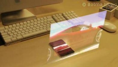 Concept iPhone5 - Proiettore Olografico