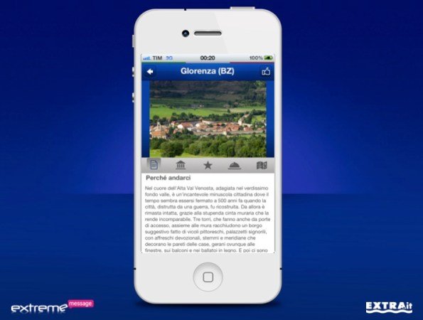 App Nivea Tour iPhone Scheda 1