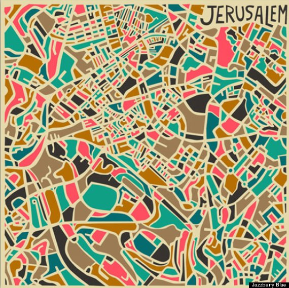 JERUSALEM - JAZZBERRY BLUE