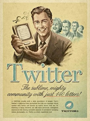 Vintage Twitter ADV by Moma