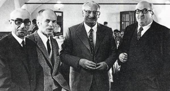 Orazio Satta Puliga, Giuseppe Busso, Giuseppe Luraghi, Carlo Chiti