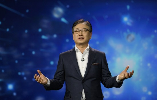 Samsung-Ceo-BK-Yoon-talks-connected-future
