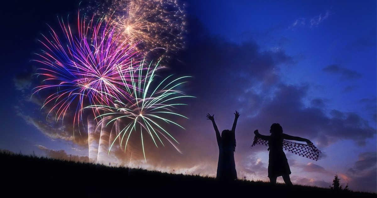 Fuochi artificio, 15 minuti di spettacolo