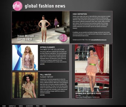 Global Fashion News Home Page