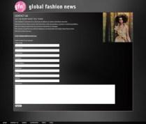 Global Fashion News Contact Form