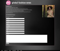 Global Fashion News Contact Form