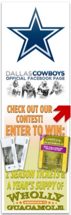 Dallas Cowboys Facebook Contest Avatar