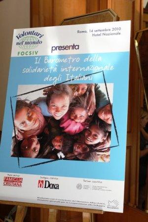 Presentazione Barometro 2010 - ROMA, 14 settembre
