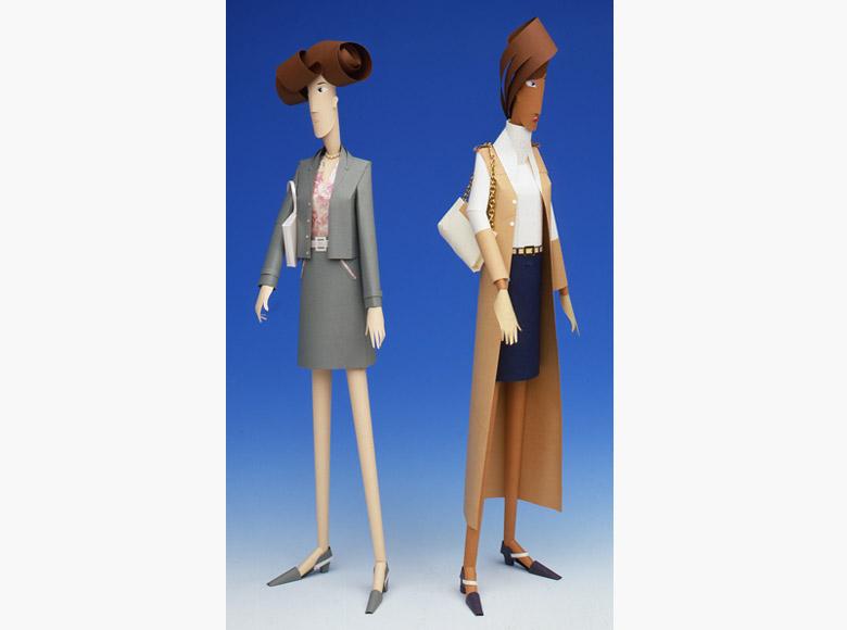 Modelli da esposizione per show room in Milano