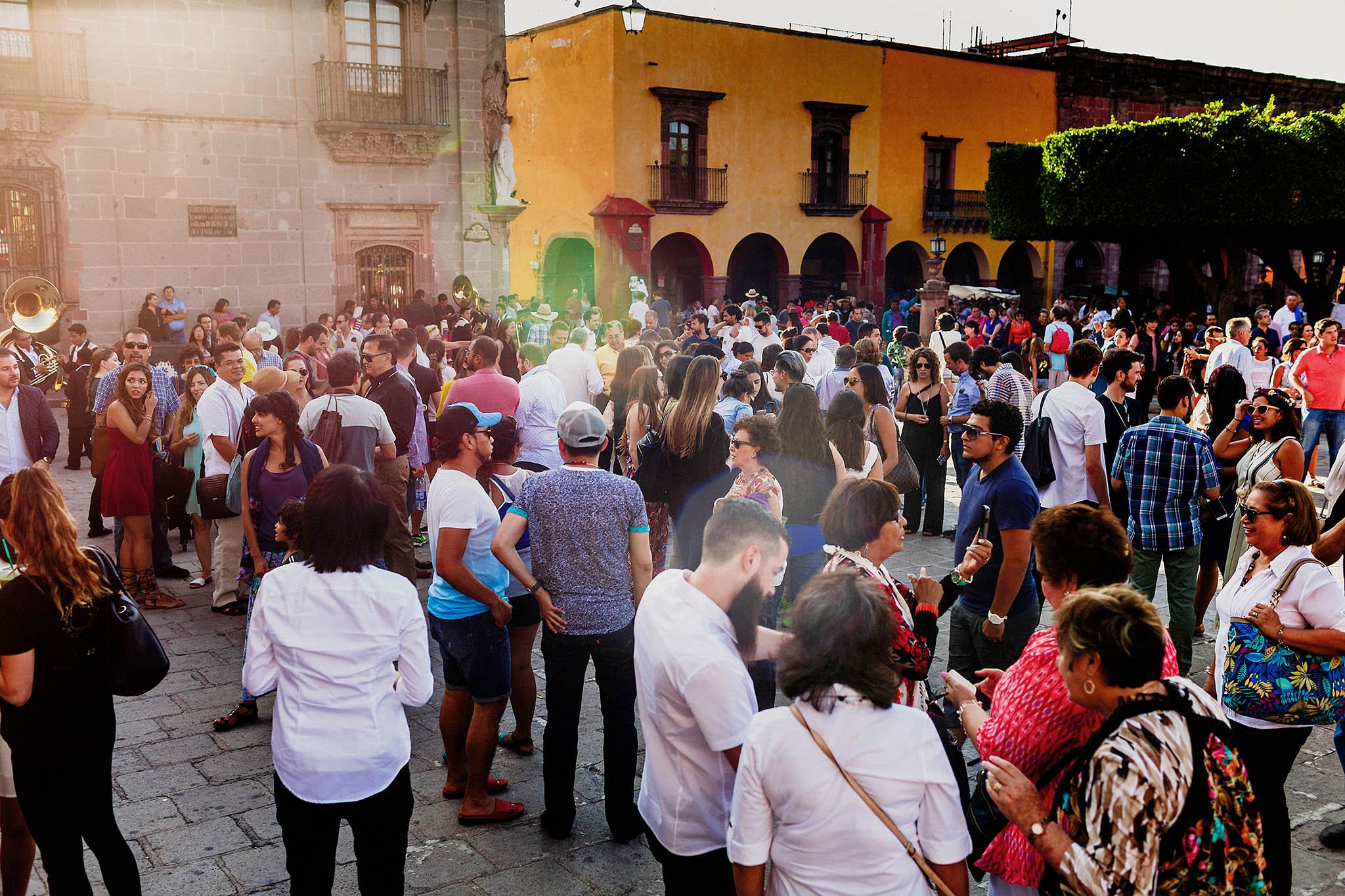 Parroquia de San Miguel de Arcangel en San Miguel de Allende