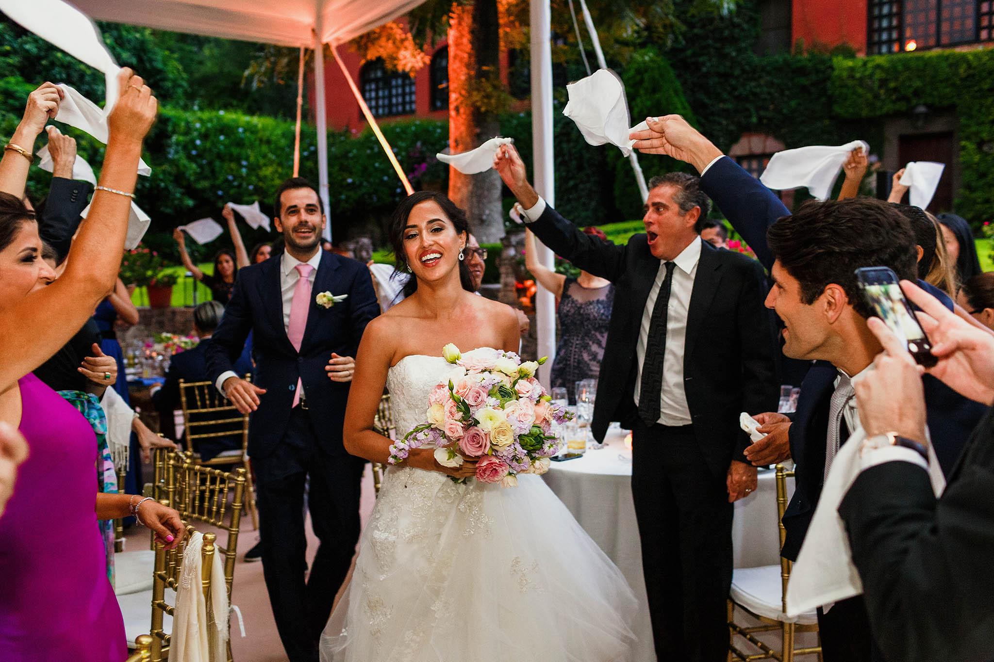 Piesta de bodas en Belmond Casa de Sierra Nevada