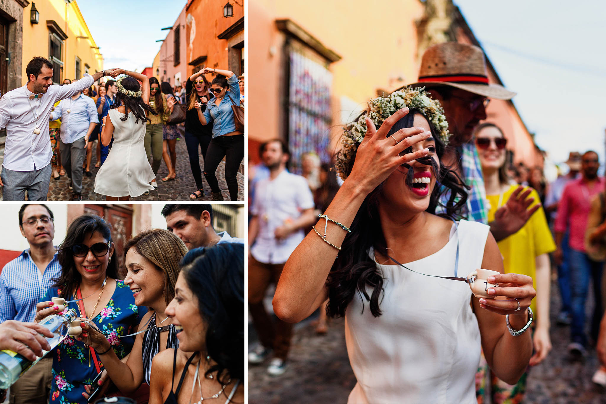 Wedding Parade in San Miguel de Allende