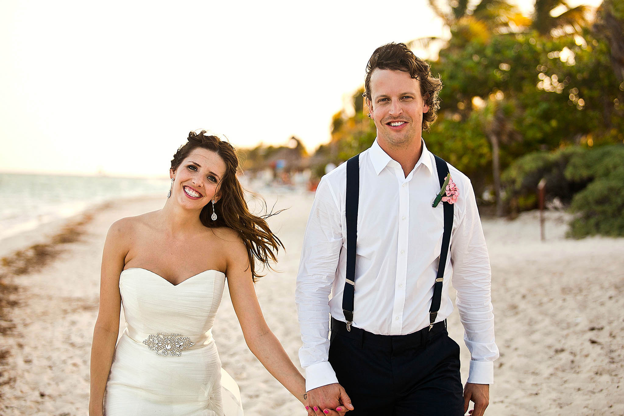 Wedding pictures in Riviera Maya