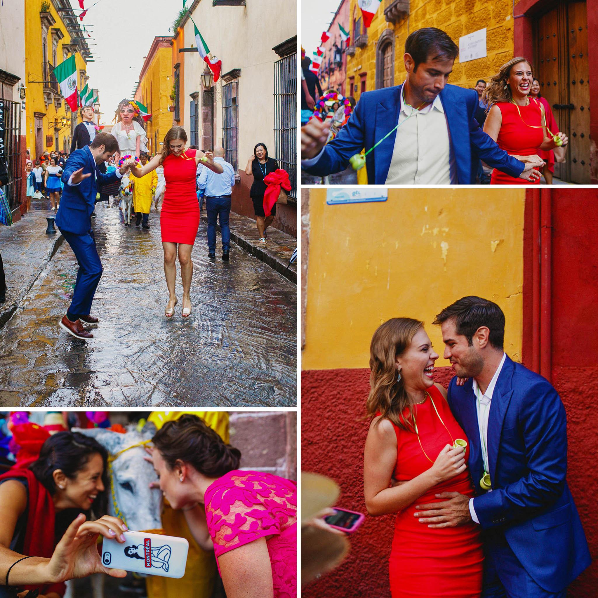 Callejoneadas en San Miguel de Allende