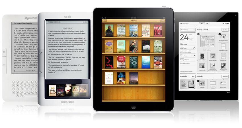 ¿Acabará el iPad con los ereaders?