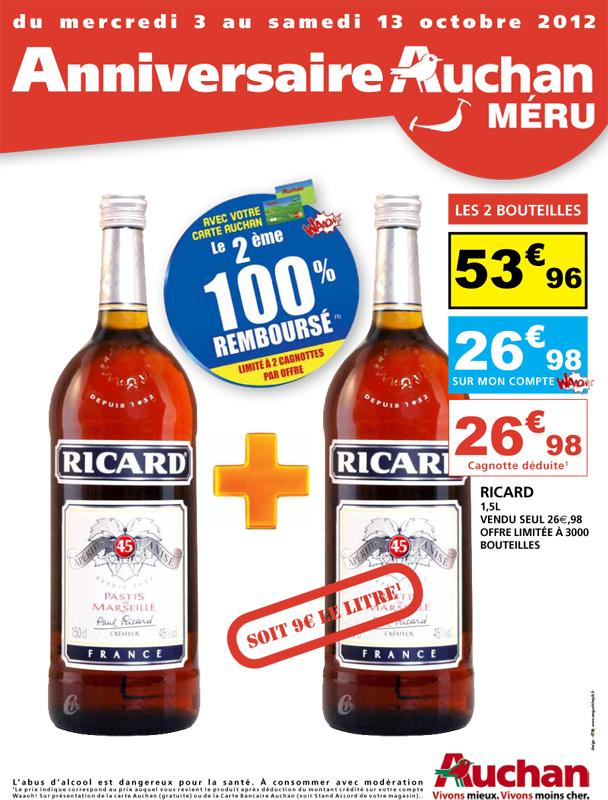 Catalogue Auchan Anniversaire - Couverture