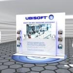 Ubi Soft - Stand PLV dans une grande surface