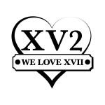 Logo XVII Noir et Blanc