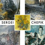 Exposition Sergei Chepik - Novembre 2018 - Flyer Communication Recto