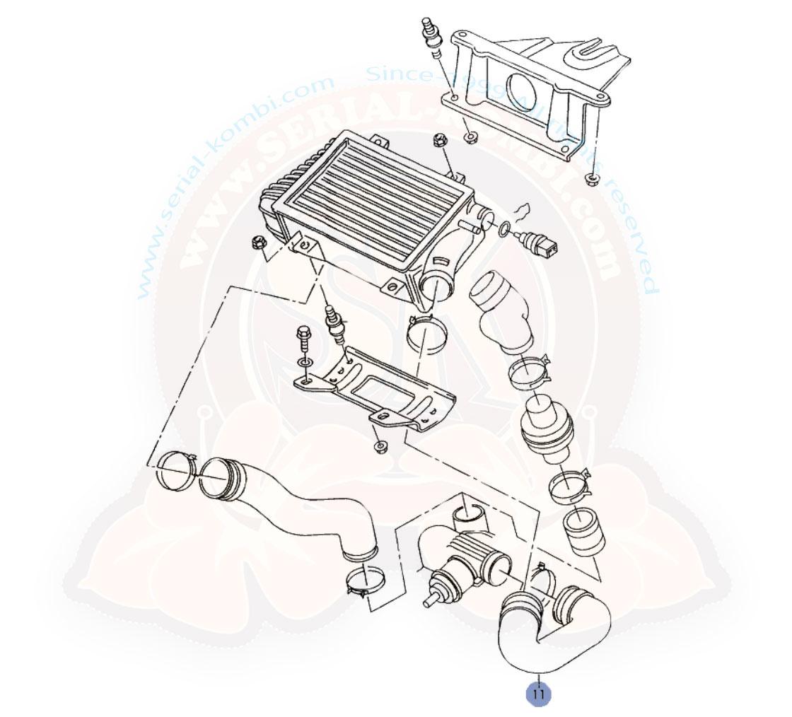 Flexible De Pression D Echangeur De Turbo T4 1 6