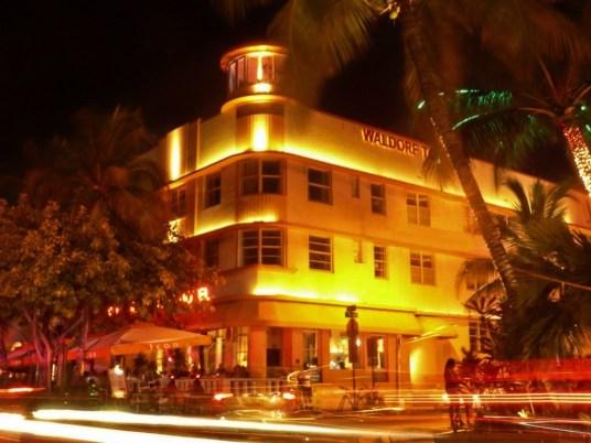 Ocean Drive Waldorf Towers Hotel