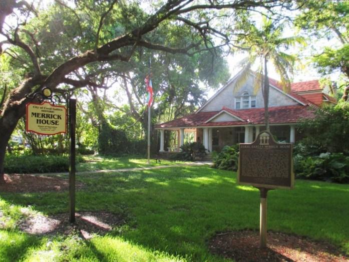 Merrick House Coral Gables