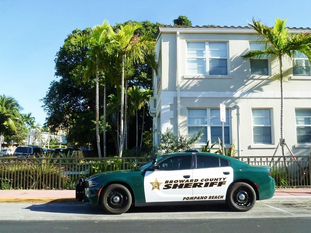 Que faire à Miami ? voiture du sherif de Miami Beach
