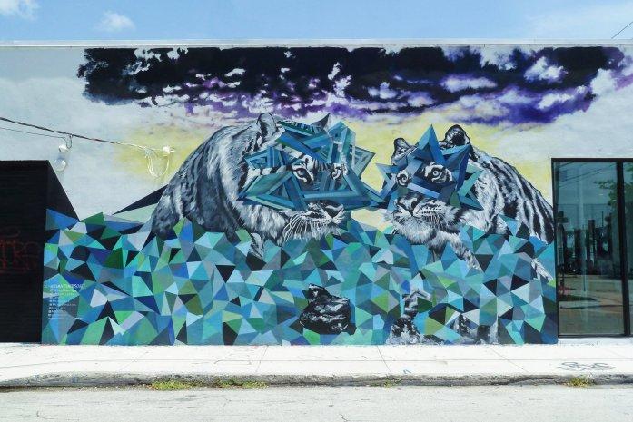 Wynwood tigre street art