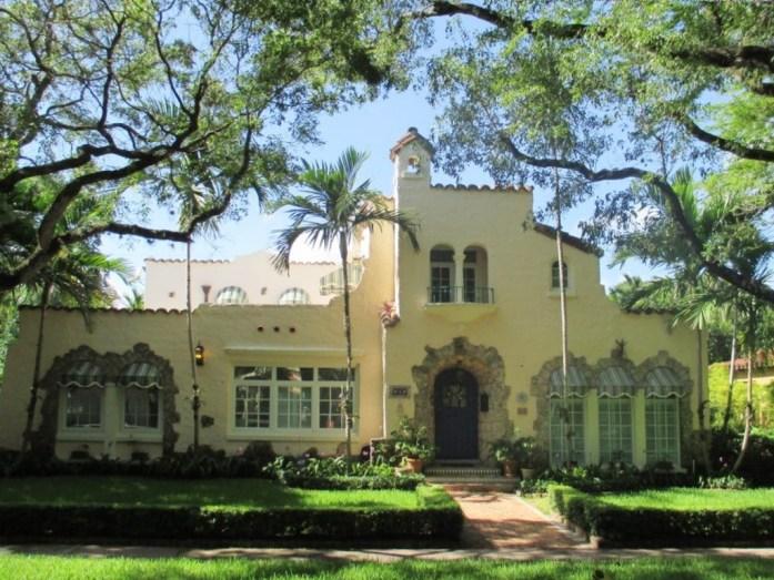 villa au style typique du Mexique Coral Gables Miami